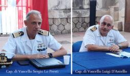 Avvicendamento alla Capitaneria di porto di Siracusa, il capitano di vascello D'Aniello lascia il posto al comandante Lo Presti