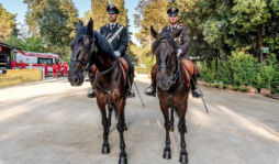 Siracusa, Carabinieri a cavallo al Parco archeologico della Neapolis