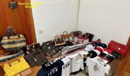 Siracusa, sequestro di merce contraffatta: un denunciato