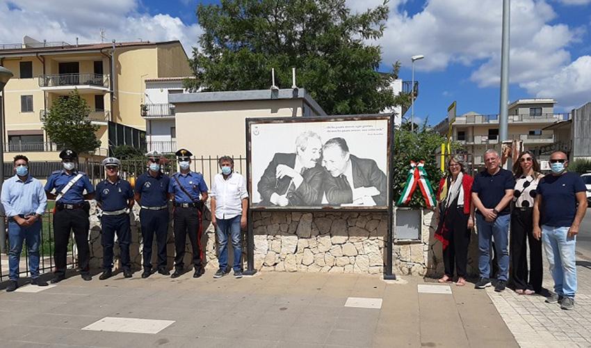 Canicattini Bagni ricorda il 29° anniversario della strage di via D'Amelio
