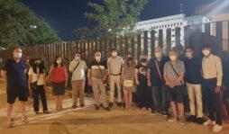 Siracusa, ieri sera il ricordo del giudice Borsellino: cerimonia davanti il tribunale