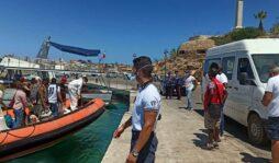 Sbarchi nella notte a Lampedusa: arrivati 212 migranti
