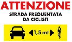 Strade sicure per i ciclisti, arriva la segnaletica stradale a Siracusa