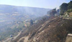 Vasto incendio a Buscemi, minacciate alcune abitazioni