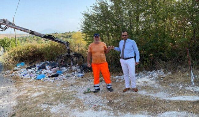 Rifiuti abbandonati, pulizia straordinaria nelle contrade periferiche di Melilli
