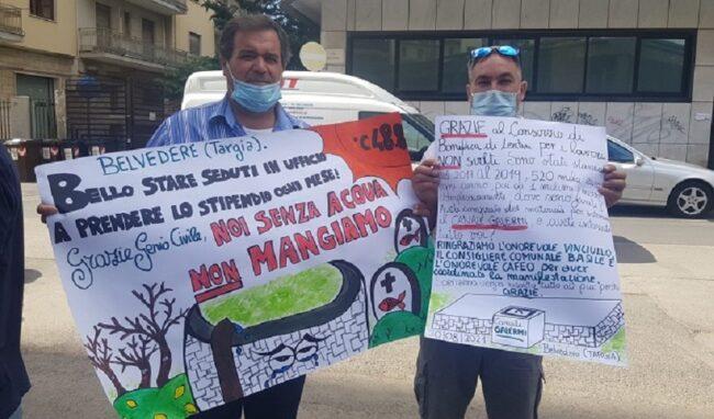 Protesta dei coltivatori siracusani: Canale Galermi ancora fuori uso