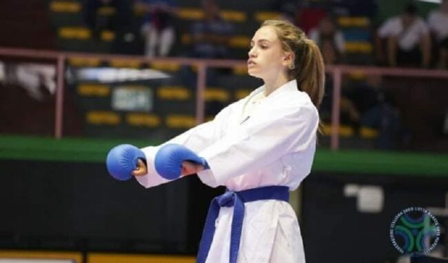 Asia Agus campionessa europea di kumite: Augusta esulta