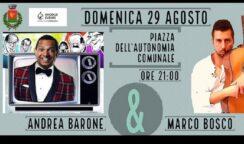 Cabaret e musica con Andrea Barone e Marco Bosco a Priolo