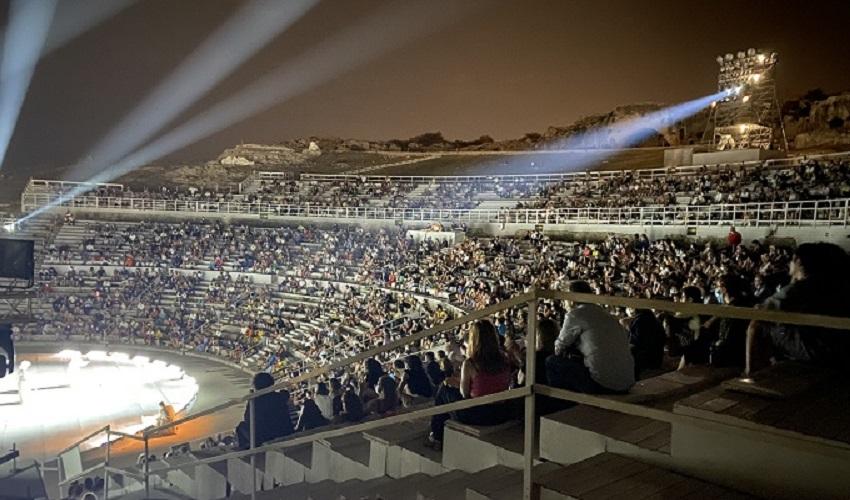 Rappresentazioni classiche, oltre 76.000 spettatori al Teatro Greco