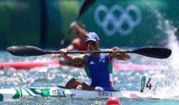 Olimpiadi, Samuele Burgo saluta Tokio con un 3° posto nella finale B del K2 1000
