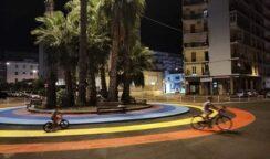 Il nuovo volto di piazza della Repubblica: via le auto dalla rotonda per fare spazio ad una pista colorata