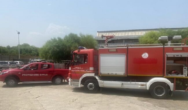 Due squadre della protezione civile di Priolo inviate a Petralia Sottana