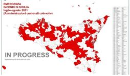 Incendi, Musumeci dichiara stato di crisi e di emergenza per 6 mesi