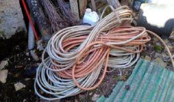 Siracusa, denunciato per ricettazione: sorpreso con 600 metri di filo elettrico di rame