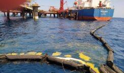 Sversamento di gasolio al pontile Isab: scatta il Piano Operativo di Pronto Intervento