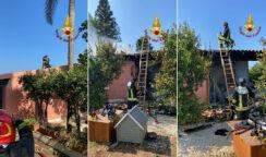 Fuga di gas con esplosione e incendio in un'azienda agricola: 4 feriti, uno è grave