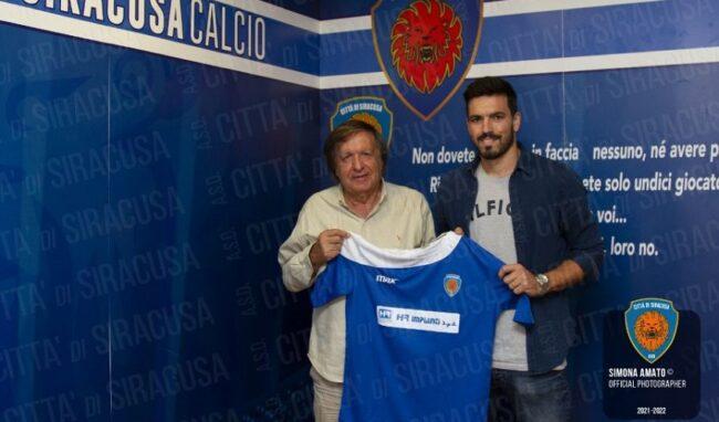 Il Siracusa presenta l'attaccante brasiliano Alessandro Padovani Celin