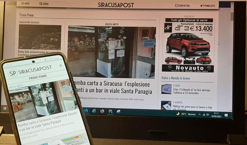 Siracusa Post cambia pelle: un nuovo sito per le prossime sfide dell'informazione
