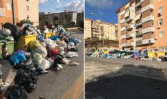 Emergenza rifiuti a Largo Luciano Russo: il nodo irrisolto dello spostamento dei contenitori dalla sede stradale