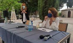 Il ministro alle Pari Opportunità Elena Bonetti a Siracusa