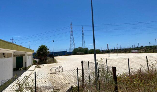Campo sportivo di San Focà a Priolo, al via i lavori