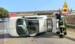 Incidente autonomo sulla Pachino-Portopalo: ferita una donna