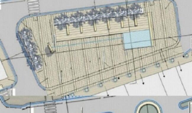 Piazza Euripide, i lavori saranno ultimati entro il 25 marzo 2022
