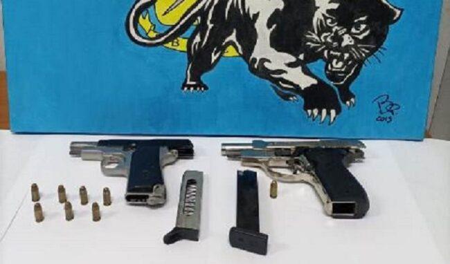 Nasconde in casa pistole e munizioni: 38enne di Siracusa dai domiciliari passa al carcere