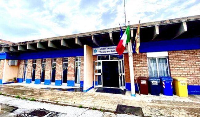 """Nuova copertura per la scuola materna Radino e per la palestra del plesso """"Edificio Nuovo"""" a Priolo"""