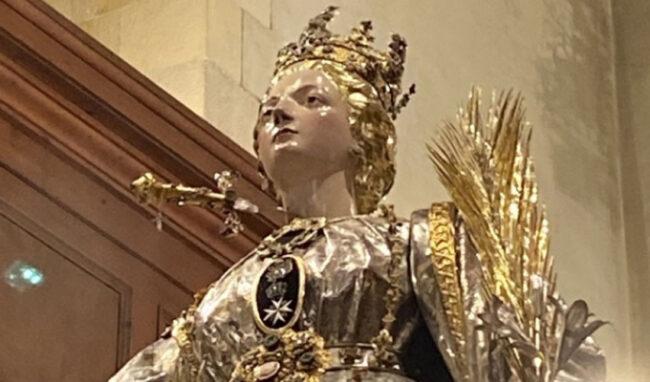 Santa Lucia, ultima esposizione straordinaria del simulacro
