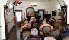 Truffe, i Carabinieri incontrano gli anziani di Augusta