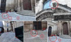 Distacco decoro lapideo dalla facciata della chiesa dell'Immacolata: la Prefettura non ancora investita del caso