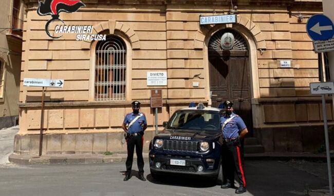 Positivi al covid, sorpresi per strada a Francofonte: denunciati 2 giovani