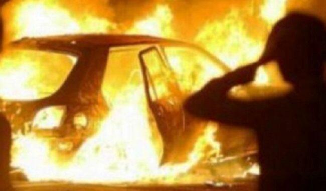 Incendio d'auto a Priolo, denunciato un 50enne