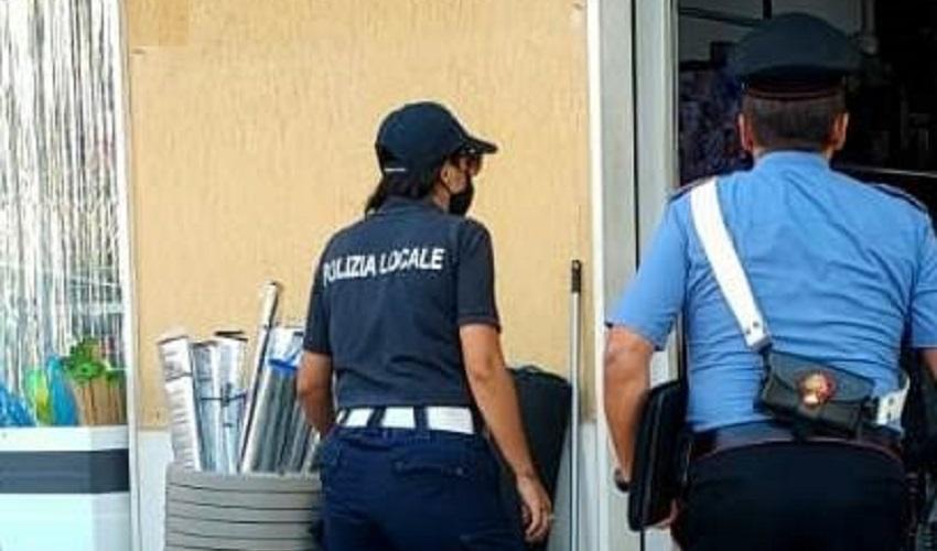 Vendita di prodotti con marchi alterati a Melilli, denuncia per la titolare cinese e sanzione di 1.000 euro