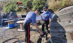Furto di 300 chili di cavi di rame da uno stabilimento della zona industriale: arrestati padre e figlio di Priolo