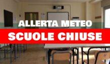 Allerta meteo arancione, scuole chiuse mercoledì 27 ottobre
