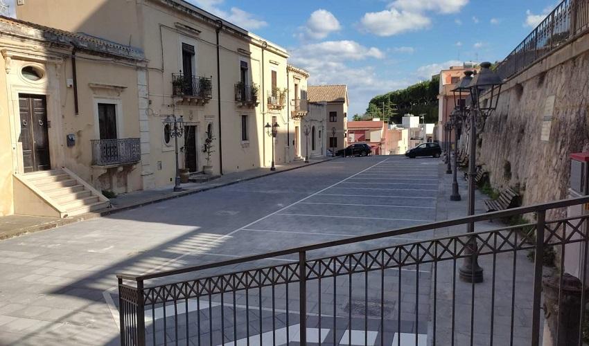 Consegnati a Melilli i lavori di pavimentazione di via Santangelo