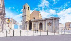 Nuovo volto per il sagrato della Basilica di piazza Santa Lucia: via ai lavori di pavimentazione