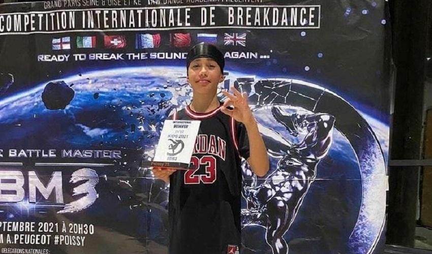 Break dance, a Parigi il titolo under 15 va al siracusano Davide Inserra