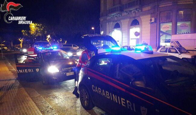 Le periferie di Siracusa nel mirino dei Carabinieri: 6 denunciati