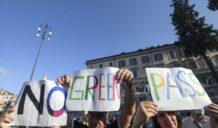 """Sbarca a Siracusa la protesta dei """"No Green Pass"""""""
