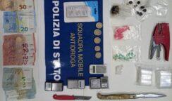 Servizio antidroga alla Mazzarrona, arrestato 25enne