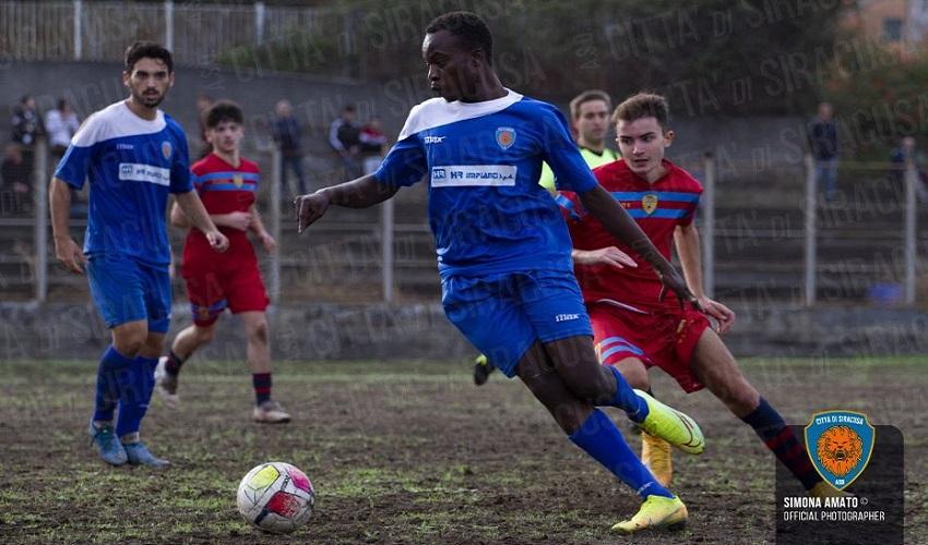 Prima vittoria in campionato per il Città di Siracusa, 5-0 all'Atletico Catania