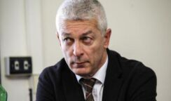 Il presidente dell'Antimafia nazionale Nicola Morra sabato a Siracusa