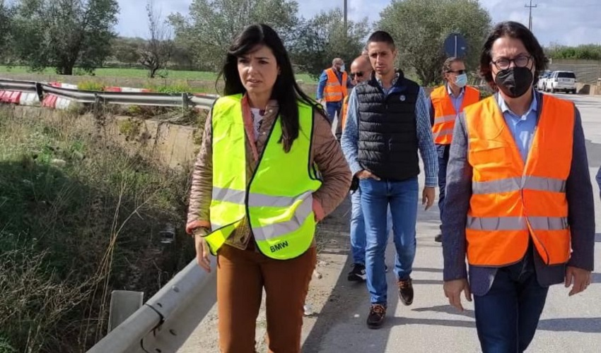 Consegnati i lavori per la messa in sicurezza della Sp 26 Rosolini-Pachino